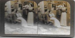 S0612 - Américan Stéréoscopic Company - Jeune. Homme. Quelles Sont Vos Intentions - Stereoscopio