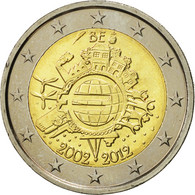 Belgique, 2 Euro, 10 Ans De L'Euro, 2012, SPL, Bi-Metallic - Belgique