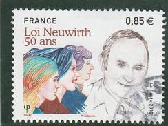 FRANCE 2017 LOI NEUWIRTH 50 ANS OBLITERE - YT 5121 -                                TDA205B - France