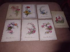 7 CARTES FANTAISIE ...BONNE FETE MAMAN - Cartoline