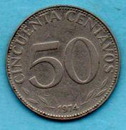 C4/ BOLIVIA / BOLIVIE  50  Centavos  1974 - Bolivie
