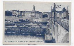 MONTAUBAN - N° 59 - LES BORDS DU TARN - A DROITE LE PONT VIEUX - CPA VOYAGEE - Montauban