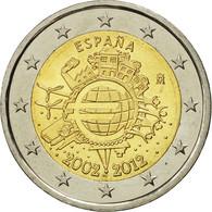 Espagne, 2 Euro, 10 Ans De L'Euro, 2012, SPL, Bi-Metallic - Espagne