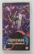 PSP Japanese : Gundam Battle Chronicle ULJS 00122 ( Used ) - Sony PlayStation