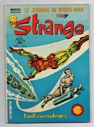 Strange N°123 L'intrépide Daredevil - L'homme Araignée - L'invincible Iron Man De 1980 - Strange