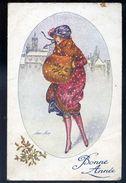Cpa Illustrateur Xavier Sager -- Sous La Neige  -- Paris Série No 151 NCL96 - Sager, Xavier