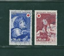 France Timbres De 1971  Croix Rouge N°1700 Et 1701  Oblitérés - France