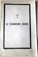05 HAUTES ALPES GAP GENEALOGIE  CHANOINE JOUVE FAIRE PART DE DECES AVEC BIOGRAPHIE - Décès