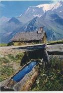 """Pittoresque échappée Sur Le Masif Du Mont Blanc """"Nos Belles Alpes"""" CP Vierge (source Vieux Chalet Auge) - Other Municipalities"""