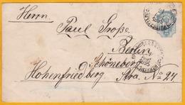 1895 - Enveloppe Entier Postal De Russie En Lettonie Vers Berlin, Allemagne - Cachet D' Arrivée - 1857-1916 Empire