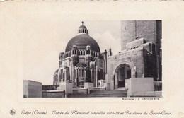 Liege, Entrée Du Mémorial Interallié 1914 18 Et Basilique Du Sacré Coeur (pk36998) - Liege