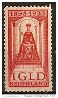Nederland NVPH Nr 129 Ongebruikt (MLH, Neuf Avec Charniere) - Periode 1891-1948 (Wilhelmina)