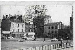 SAINT MAUR DES FOSSES  PLACE DE LA GARE FACON PHOTO   CAFE DE LA GARE   VOITURES   DEPT 94 - Saint Maur Des Fosses