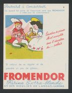 Buvard - FROMENDOR N°6 - Blotters