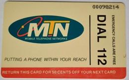 South Africa Phonecard R10 Dial 112 - Afrique Du Sud