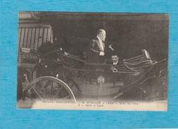 Voyage Présidentielle - M. Poincaré à Lyon ( Rhône ). - 22-24 Mai 1914 - Salut à Lyon. - Lyon