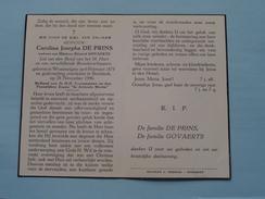 DP Carolina DE PRINS ( Edward Govaerts ) Wommelgem 6 Feb 1875 - Borsbeek 28 Nov 1946 ! - Religion & Esotericism