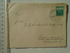 D151247  Ceskoslovakia  Czechoslovakia -Cover -  1938 Zauchtel Suchdol Odrou -sent To Salzburgt -Maxglan - Tschechoslowakei/CSSR