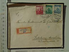 D151249  Ceskoslovakia  Czechoslovakia -Cover -  1937 Novy Jicin - Neu-Titschein  -sent To Salzburg -Maxglan - Briefe U. Dokumente
