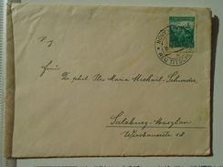 D151252  Ceskoslovakia  Czechoslovakia -Cover -  1938 Novy Jicin - Neu-Titschein  -sent To Salzburg -Maxglan - Briefe U. Dokumente