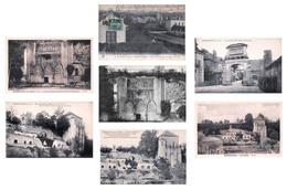 Dpt 37 - Lot De 7 Cartes CPA De Marmoutier - Toutes Scannées - France