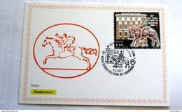 ITALIA 2017- OFFICIAL MAXICARD 80 ANNI MUSEO DEI CARABINIERI ROMA FDC - Cartas Máxima