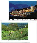 4151w: 2 AKs Malaysia, Ungelaufen - Malasia