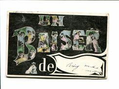CP-  BRIEY (54) UN BAISER DE BRIEY - Briey