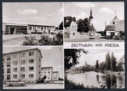 A5114 - Alte MBK Ansichtskarte - Zeithain Kr. Riesa - Postamt Langenberger Straße TOP - Zeithain