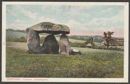 Spinster's Rock Cromlech, Drewsteignton, Devon, C.1905 - Peacock Postcard - England