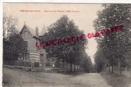 76 - FORGES LES EAUX - AVENUE DU PALAIS D' ETE CASINO  1907 - Forges Les Eaux