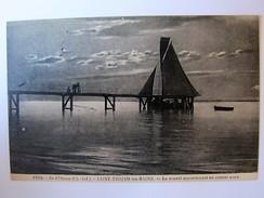 FRANCE - CHARENTE MARITIME - ILE D'OLERON - SAINT-TROJAN-LES-BAINS - Le Nouvel Appontement - 1928 - Ile D'Oléron