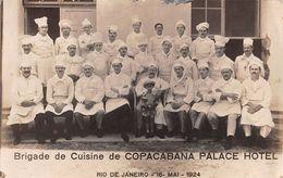 """D6066 """"BRIGADE DE CUISINE DE COPACABANA PALACE HOTEL""""   ANIMATA - FOTO ORIGINALE - Mestieri"""