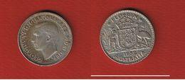 Australie --  1 Florin  1952   --  état  TTB  --  Km # 48 - Monnaie Pré-décimale (1910-1965)
