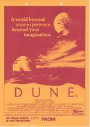Dune - David Lynch - Original Official UK Small Advertising Posters, 1984 - Pubblicitari