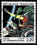 FRANCE  1988  -  YT  2511 -    La Communication  - Cachet - Used Stamps