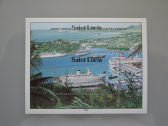 1991  St Lucie  Yvert BF 56 ** Bateaux Ships  Scott Xx Michel  B 59  SG Xx - St.Lucie (1979-...)