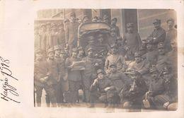 """D6068 """"R.E. - I G. M. - GRUPPO DI ARTIGLIERI MAGGIO 1918""""   ANIMATA - FOTO ORIGINALE - Guerre, Militaire"""