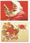 -  **  6  X  Cocacolakaarten      ** -- - Cartes Postales