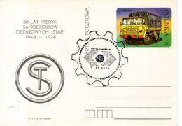 B 1057 - Automobilismo Camion Polonia - Camion, Tir