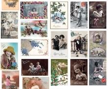 """Lot De 100 Cartes Fantaisies """" Bonne Année """" -  Femmes, Enfants, Paysages, Etc. - Autres"""