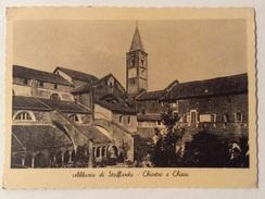 ABBAZIA DI STAFFARDA  - CHIOSCO E CHIESA VIAGGIATA FG - Cuneo
