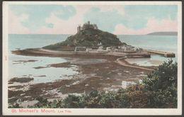 Low Tide, St Michael's Mount, Cornwall, C.1905 - Peacock Postcard - St Michael's Mount