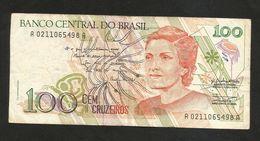 BRAZIL - BANCO CENTRAL Do BRASIL - 100 CRUZADOS NOVOS (1990) - Brasile