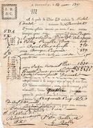 Mai 1807 - CANNELLE, CLOUS DE GIROFLE, COUPEROSE, CIRE - Roulage De Toulouse à Aix - Documents Historiques
