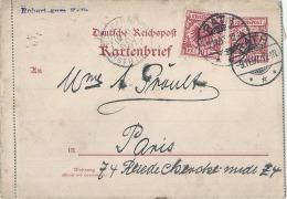 ALLEMAGNE  Entier Postal Carte Lettre Supplémentée - TTB - Cartas