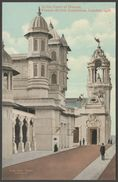 The Court Of Honour, Franco-British Exhibition, 1908 - Valentine's Postcard - Exhibitions