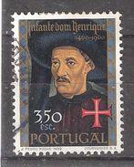 PORTUGAL, 1960, Yvert N° 875, Infant Dom Henrique, Portrait , 3 E 50 , Obl, TB - 1910-... République