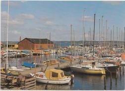 Juelsminde, Lystbadehavnen, The Yachting Harbour, Denmark, Used Postcard [20215] - Danemark