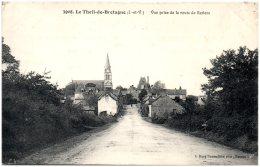 35 LE THEIL-de-BRETAGNE - Vue Prise De La Route De Retiers   (Recto/Verso) - Otros Municipios